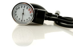 Tool for measuring of blood pressure. Medical tool for blood pressure measuring stock image