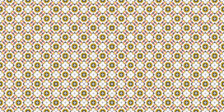 Tool red and yellow colors laid out in a decorative pattern with stars, circles, squares on a white background4. Tool red and yellow colors laid out in a Royalty Free Stock Image