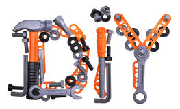 Tool renovation diy set Stock Photo