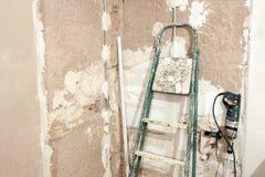 Tool during the renovation Stock Photos