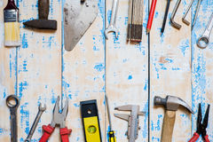 tool renovation Royalty Free Stock Images