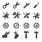 Tool and repair icon. Web icon illustration design vector sign symbol Royalty Free Stock Photos