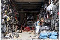 A tool room Royalty Free Stock Images