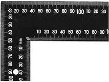 Tool  ruler  square Stock Photo