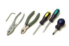 Tool set Royalty Free Stock Photos