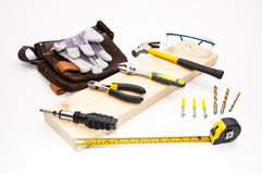Tool set Royalty Free Stock Photo