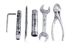 Tool set necessity Stock Image