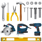 Tool Set Vector Royalty Free Stock Photo