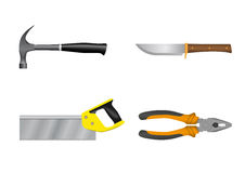 Tool set Royalty Free Stock Image