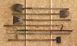 Tool Shed Royalty Free Stock Photography