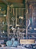 Tool Shed in Cape Breton. Tool shed in Sherbrook Village in Cape Breton Royalty Free Stock Photography