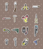 Tool stickers Stock Photo