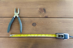 The tool on a table Royalty Free Stock Photos