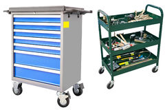 Tool trolley Royalty Free Stock Images