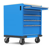 Tool trolley Royalty Free Stock Photos
