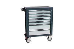 A tool trolley. The image of a tool trolley Royalty Free Stock Images