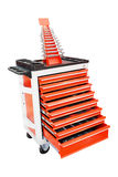 Tool trolley Royalty Free Stock Photography