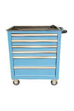 Tool trolley. Image of a tool trolley Royalty Free Stock Photos