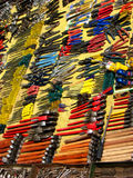 Tool Variety. Different tools for sale in a streetside shop in India Royalty Free Stock Photo
