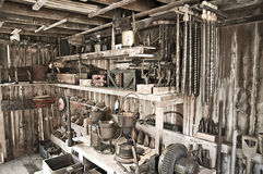 Tool workshop Royalty Free Stock Photography