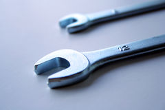 Tool Wrenches. Two Tool Wrenches stock photography