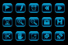 Toolbar and Interface icons Stock Photo