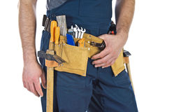 Toolbelt detail Stock Photos