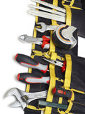 Toolbelt with tools Royalty Free Stock Photos