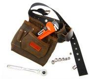 Toolbelt y llave Imagen de archivo