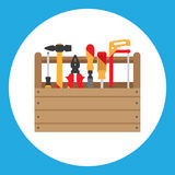 Toolbox royaltyfri illustrationer