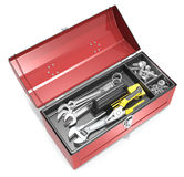 Toolbox And Tools. Stock Photography
