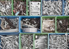 Toolbox background Stock Photo