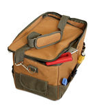 Toolbox bag with tools Royalty Free Stock Images