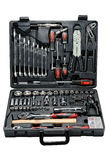 Toolbox with different instruments. isolated Royalty Free Stock Photography
