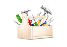 Free Toolbox Icon Royalty Free Stock Photography - 30252167