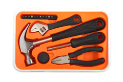 Toolbox kit Royalty Free Stock Image