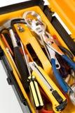 toolbox kolor żółty Obraz Royalty Free