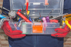 A toolbox Stock Image