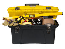 Toolbox with tools Royalty Free Stock Photos