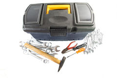 Toolbox and Tools III Royalty Free Stock Photo