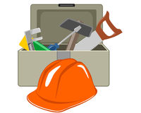 Toolbox with tools Royalty Free Stock Photo