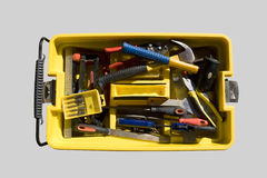 Toolbox and various tools Stock Photography