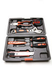 Toolbox with various tools Stock Image