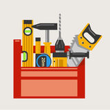 Toolbox vector illustration Royalty Free Stock Photos