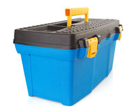 Toolbox  on white background Royalty Free Stock Images