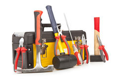 Free Toolbox With Tools Stock Photo - 25370210