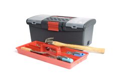 Toolbox2 Foto de Stock Royalty Free