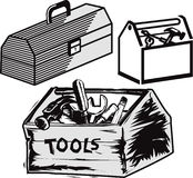 Toolboxes Stock Photography