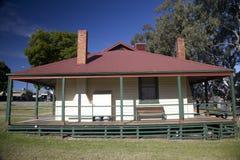 Tooleybuc Bridge Keepers Cottage Stock Images
