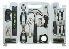 Tooling set for the home master Stock Image